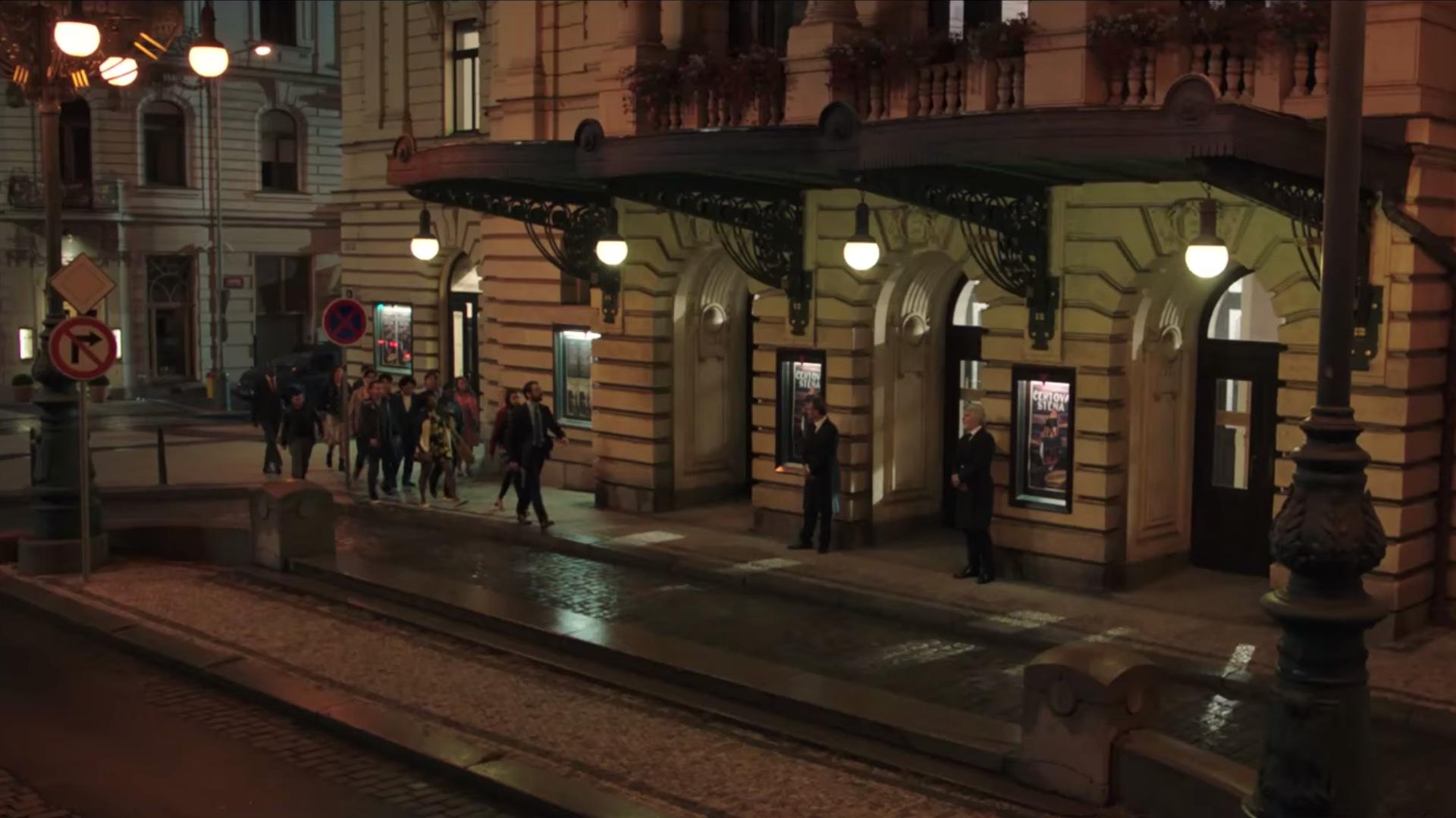 Divadlo na Vinohradech v novém filmu se Spider-Manem