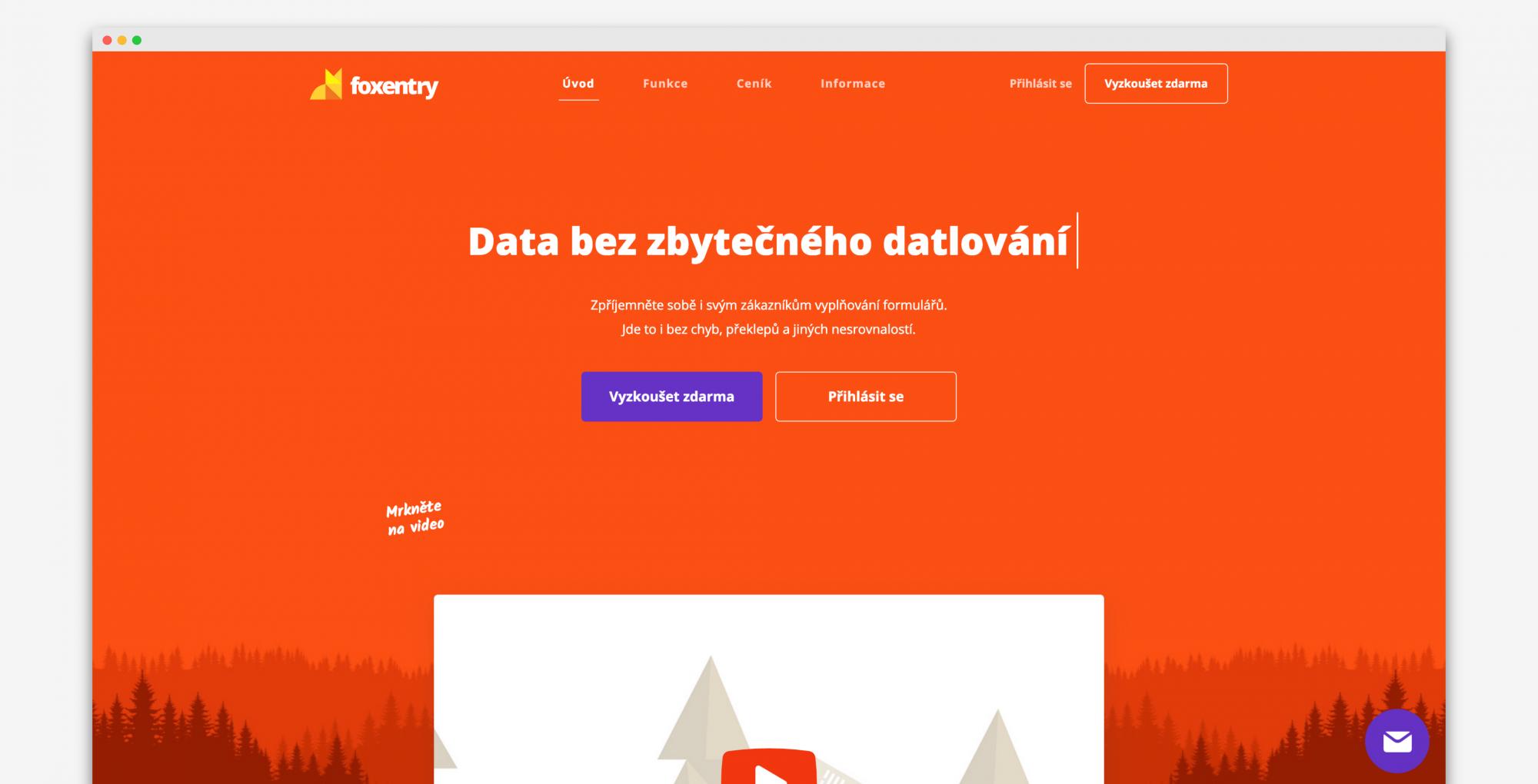 Weby bez e-mailu