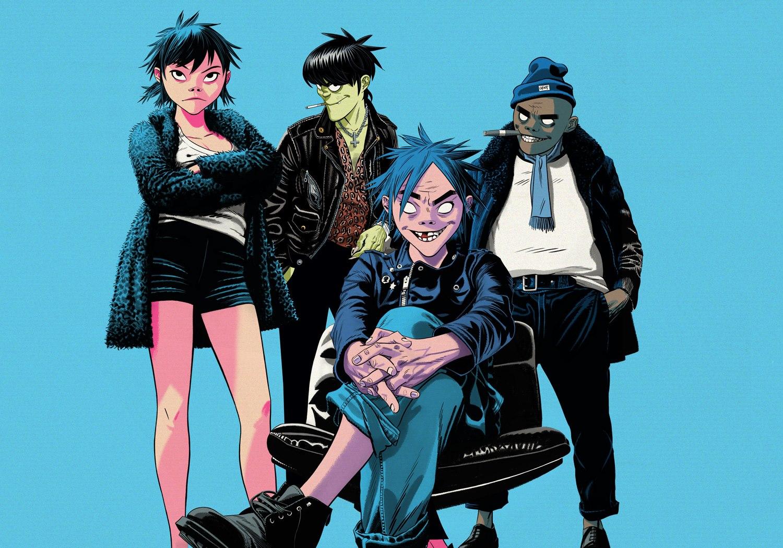 Skupina Gorillaz, fungující pod alternativní identitou