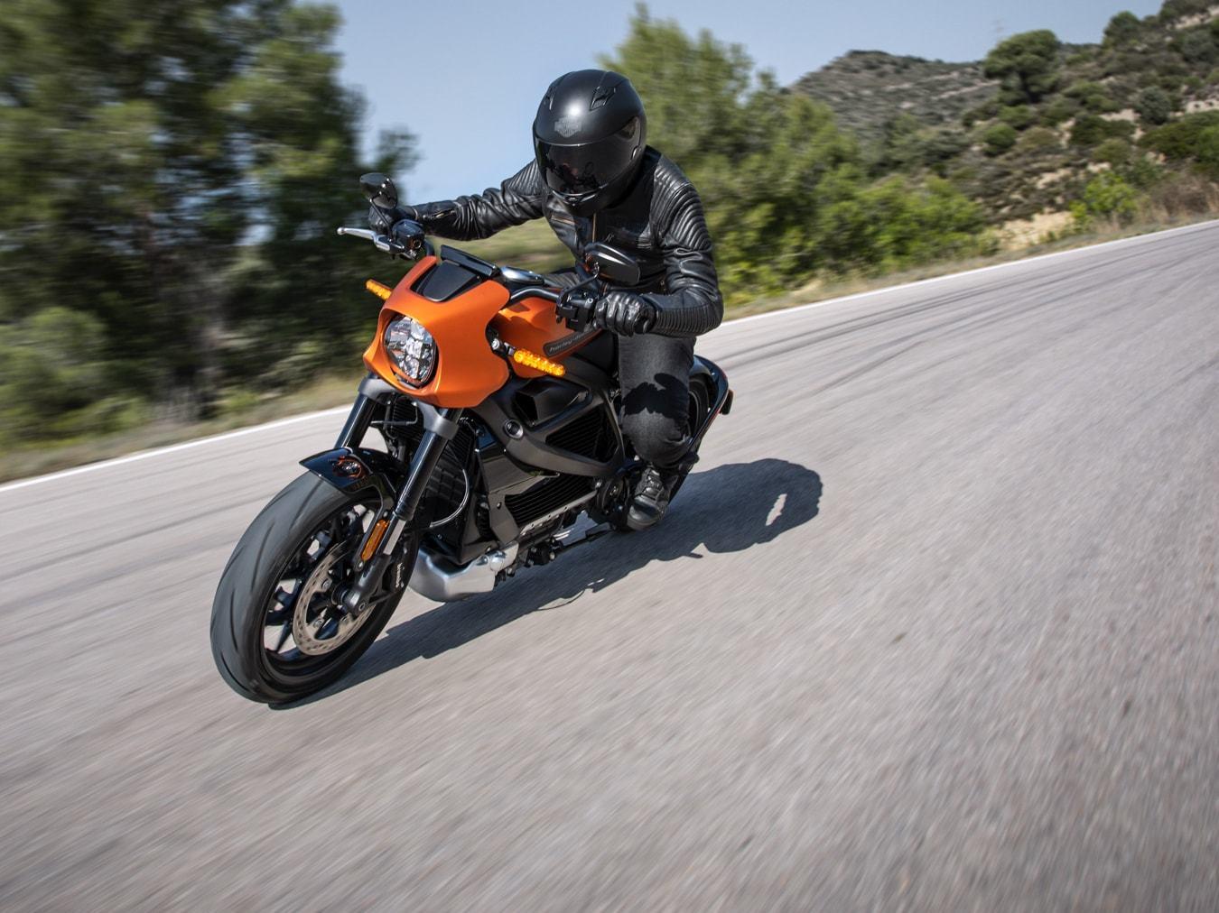 První elektrický Harley-Davidson LiveWire