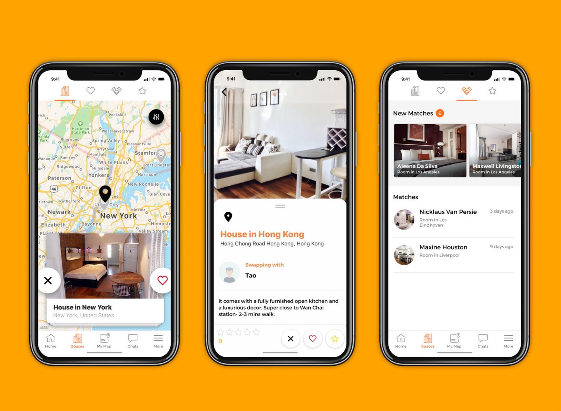 Vlak seznamka app