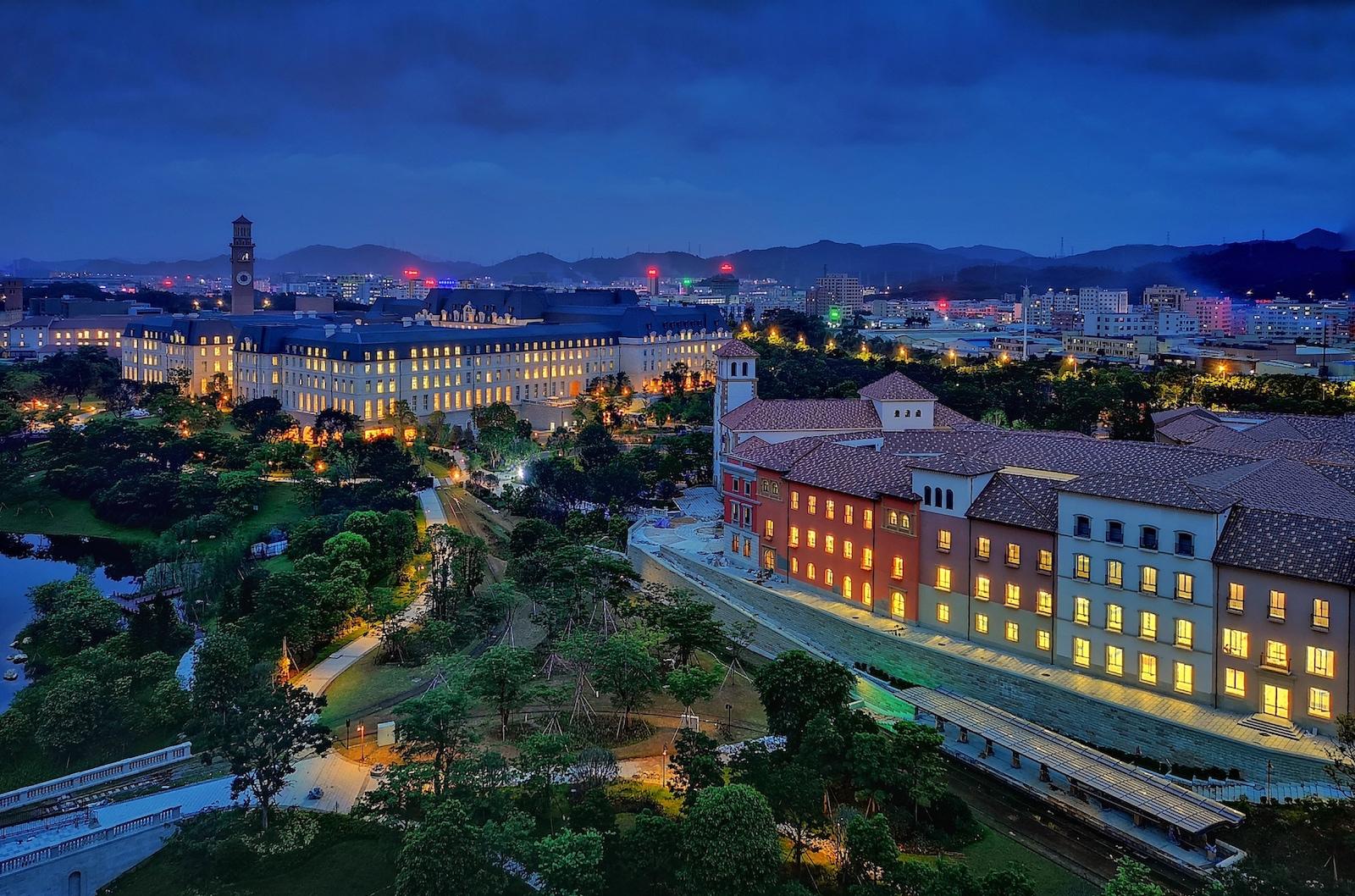 Nový OX Horn Campus čínského Huawei