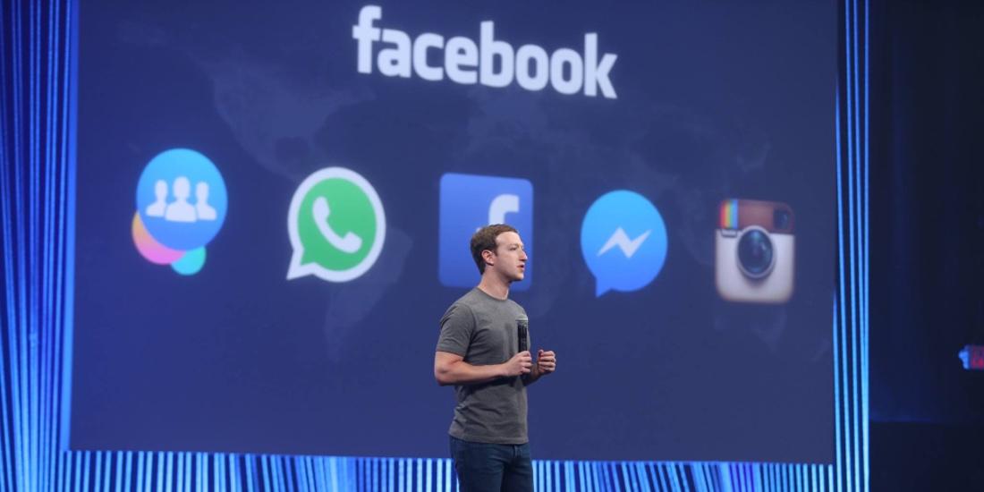 Pod Facebook patří také Messenger, Instagram a WhatsApp