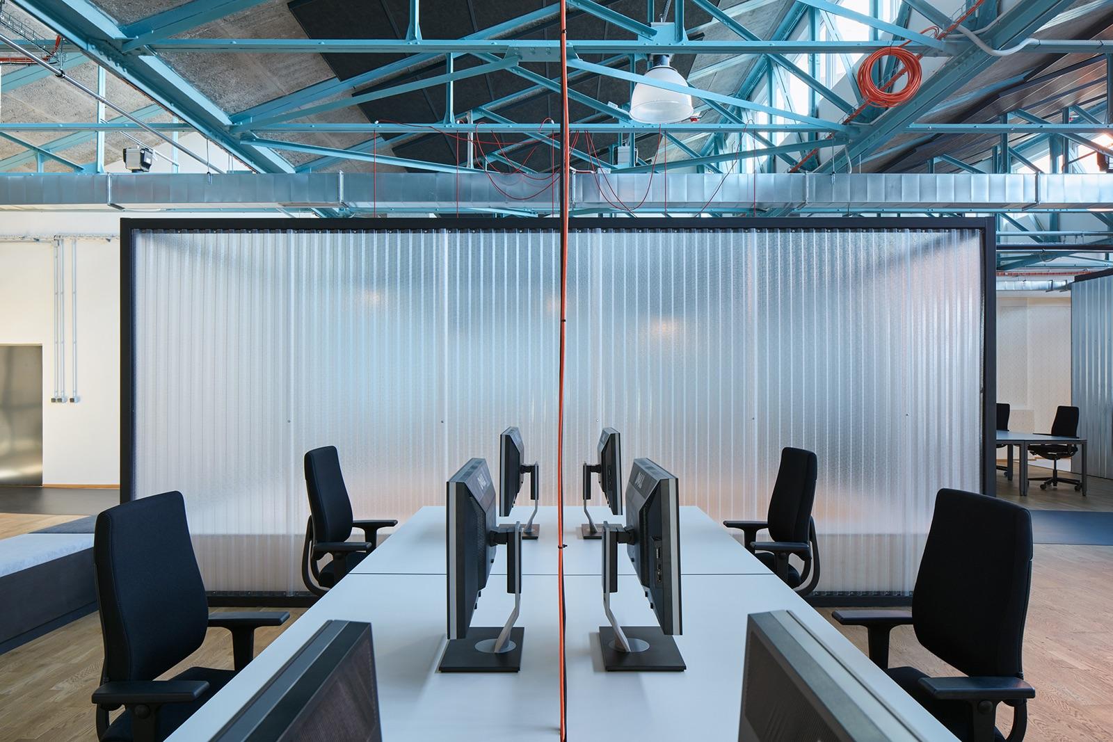 Open space pracovní prostor