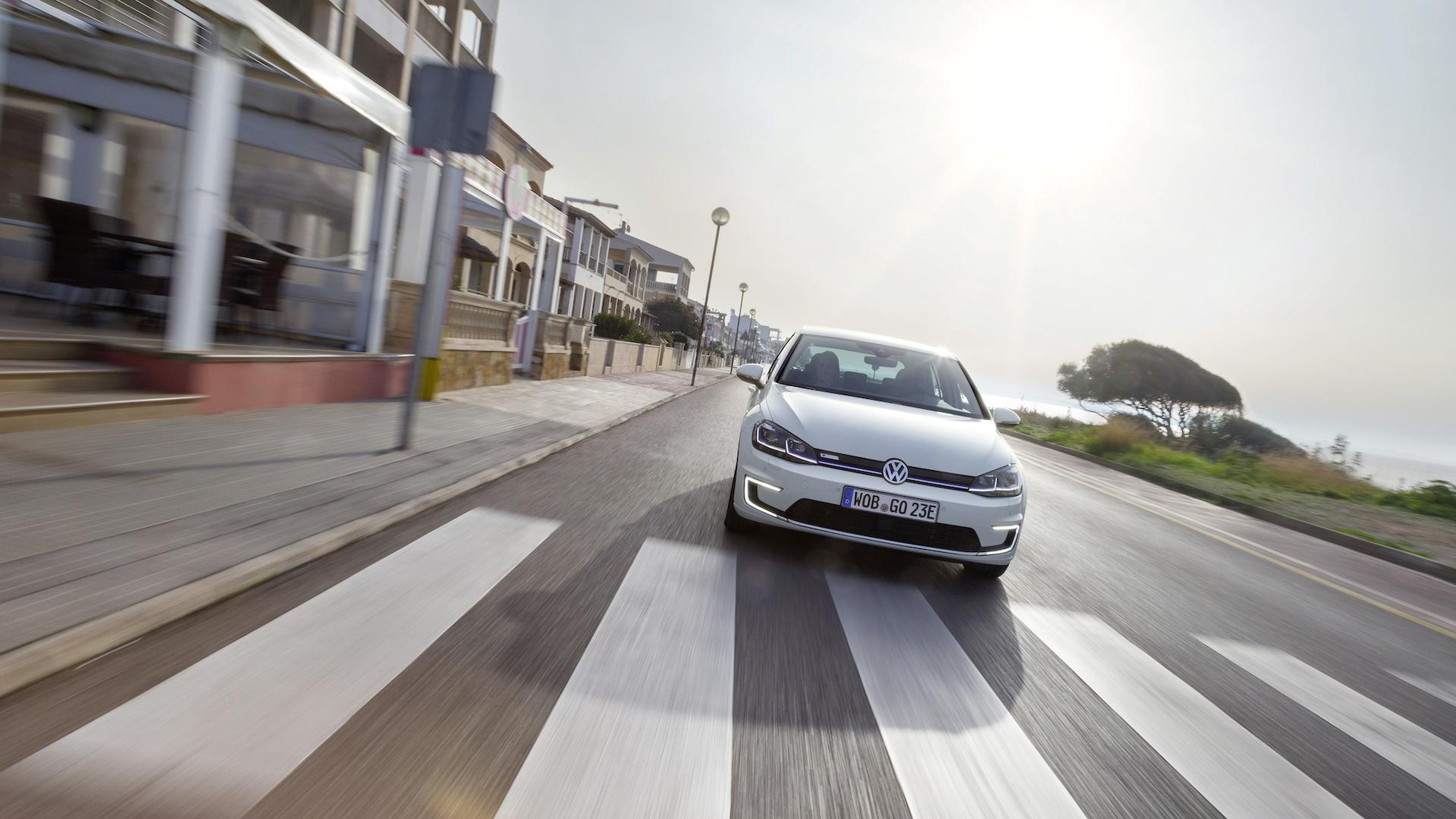 Elektrický Volkswagen e-Golf