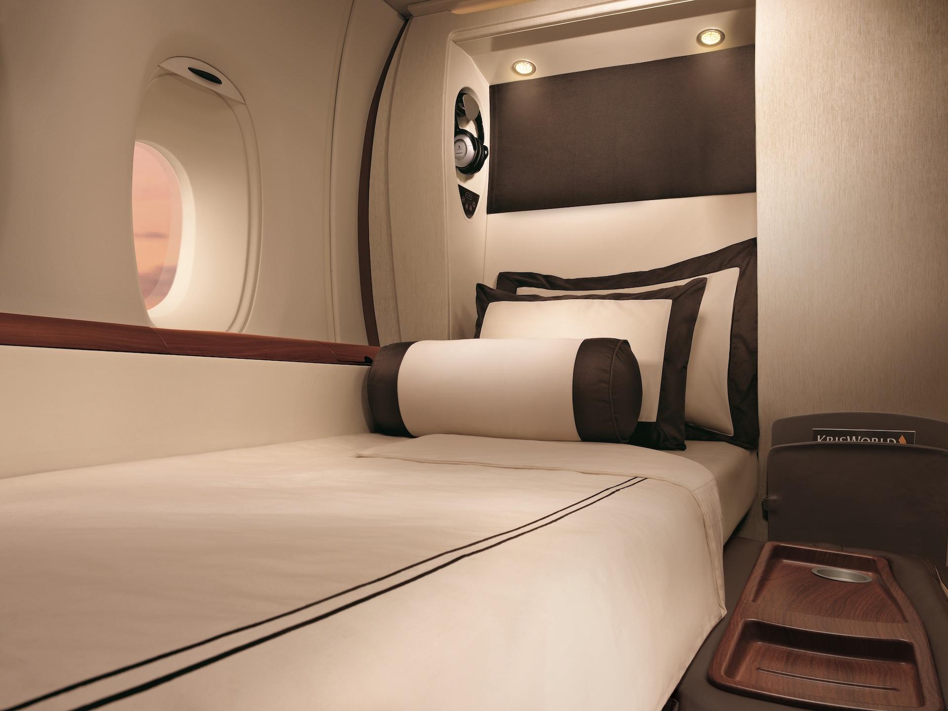 Privátní kabina Suites v Airbusu A380 od Singapore Airlines