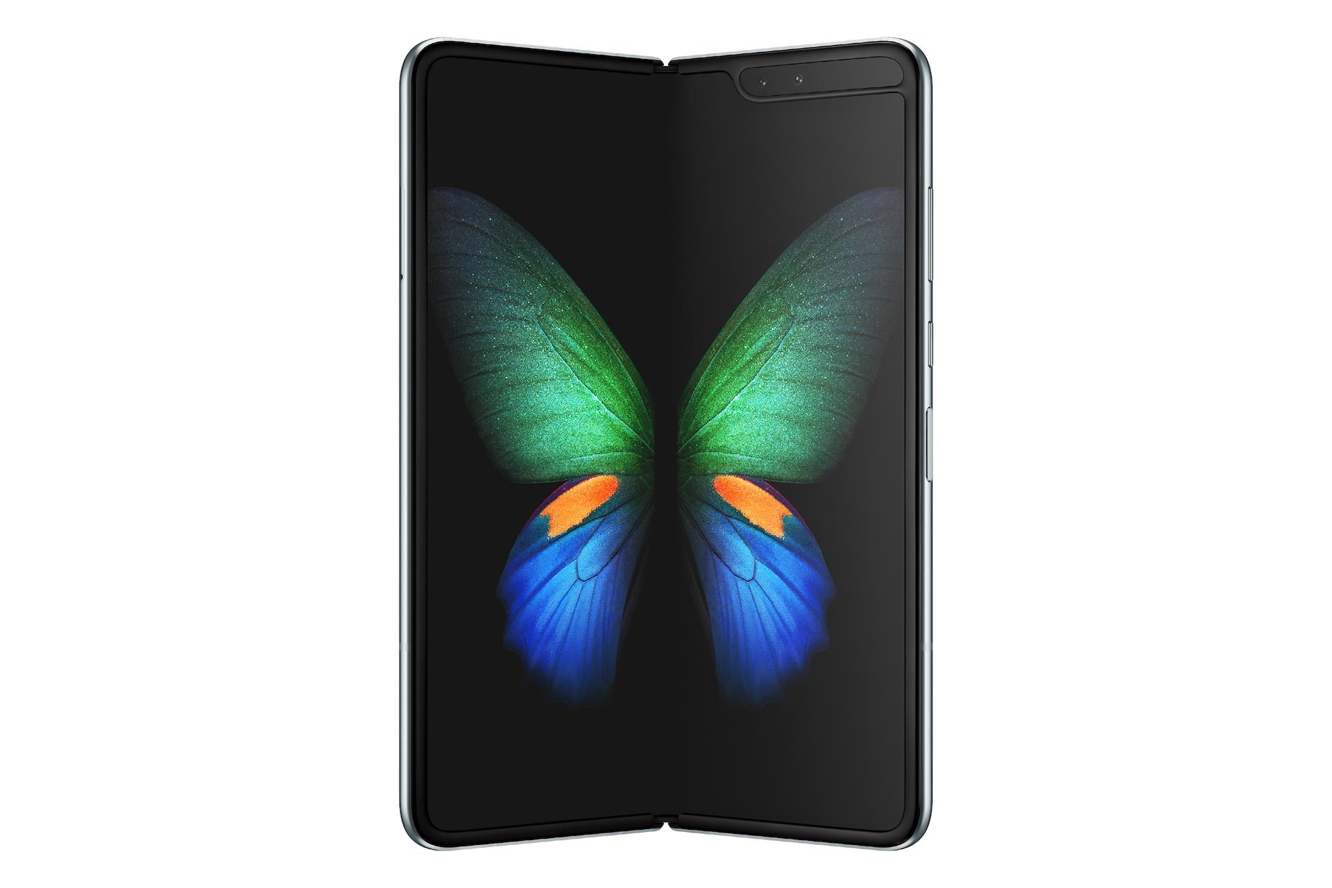 Rozevřený Samsung Galaxy Fold