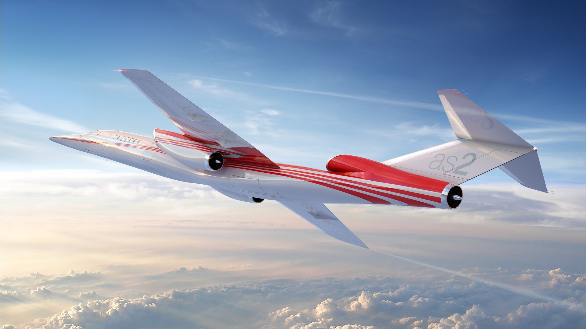 Nadzvukový letoun Aerion AS2