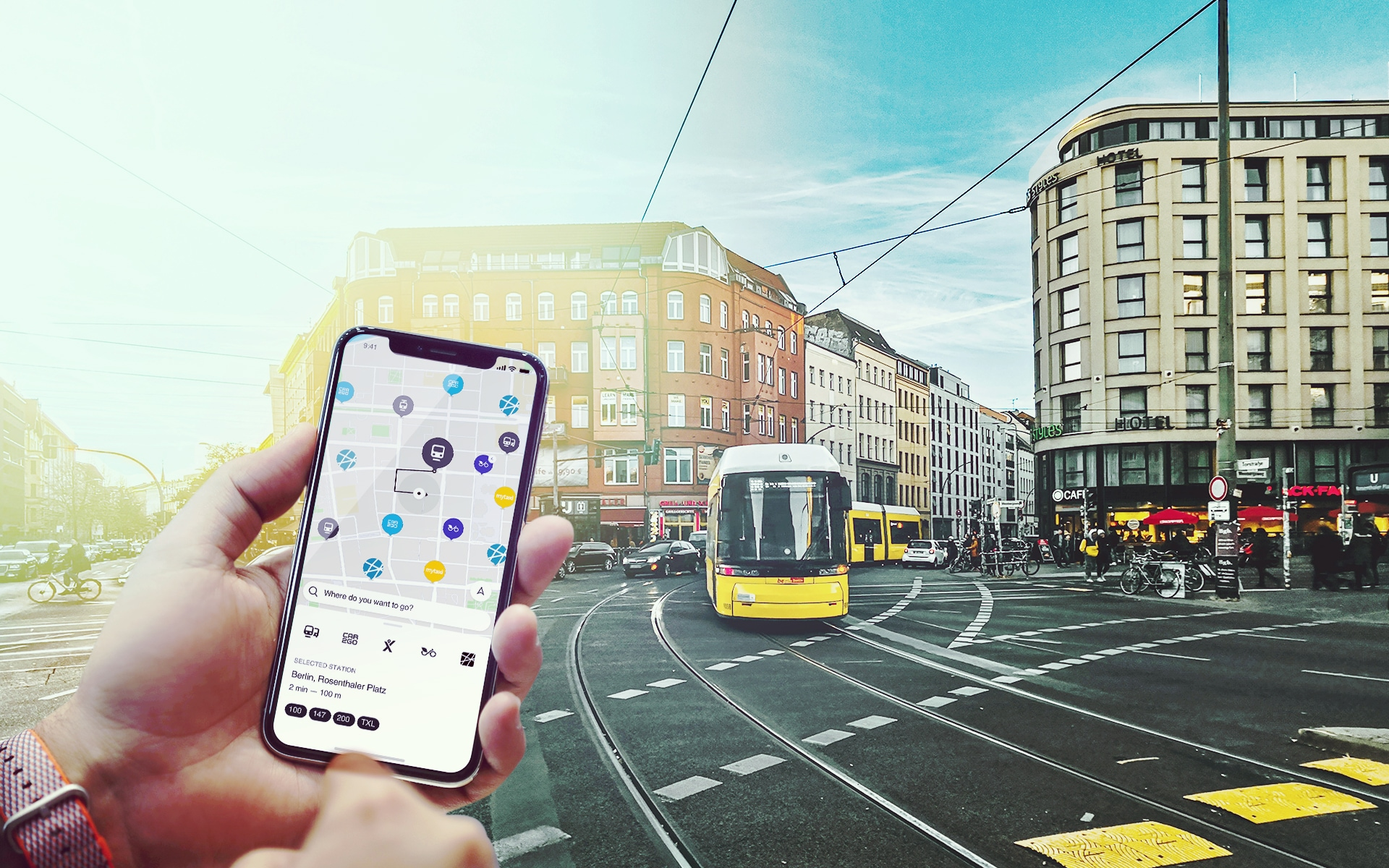 BMW a Daimler vyvinou i univerzální aplikaci kombinující různé dopravní služby a prostředky