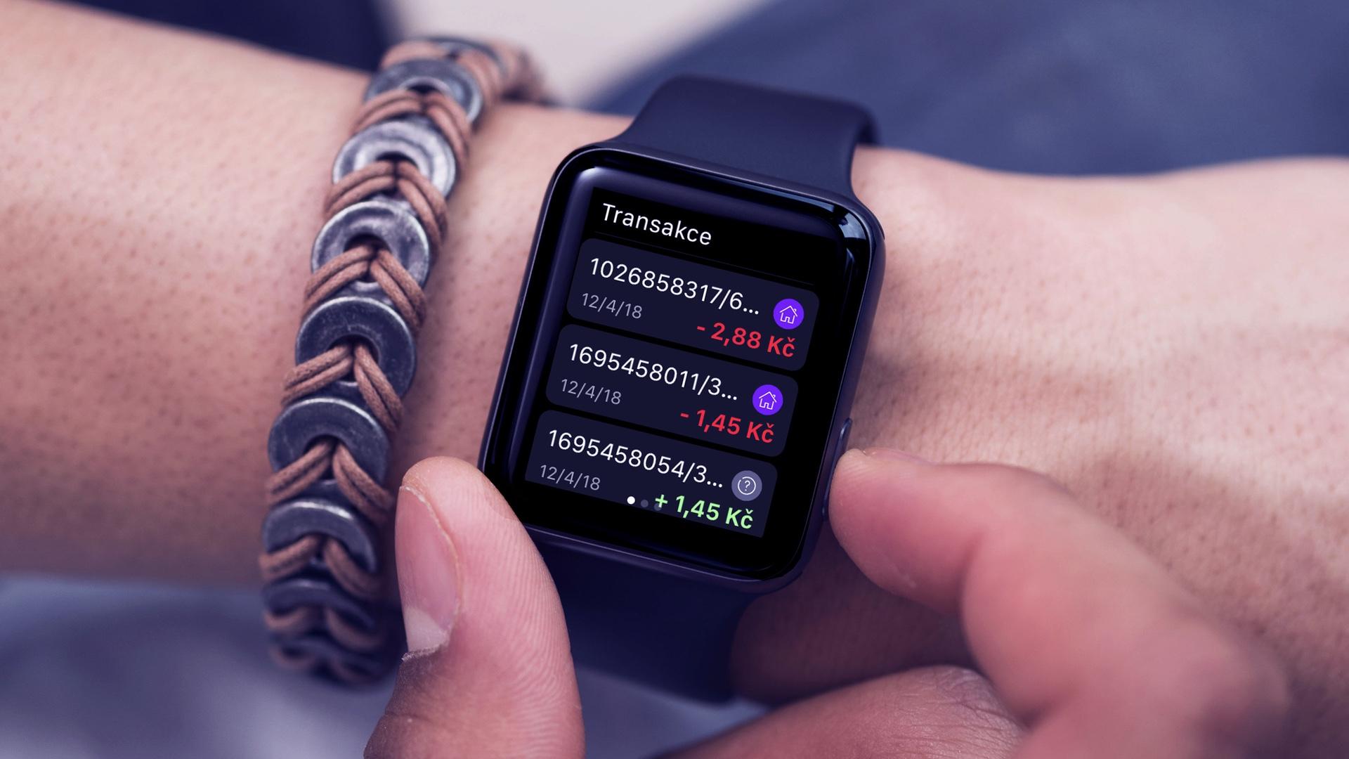 Aplikace Richee funguje také na chytrých hodinkách