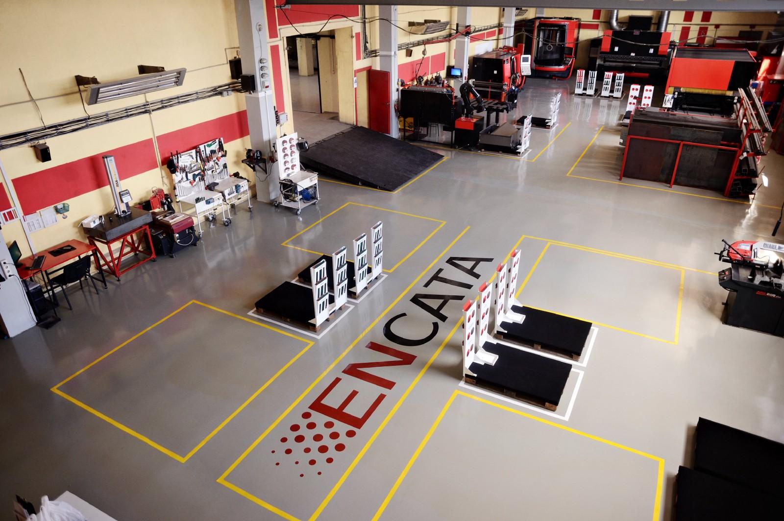Jedno z R&D center EnCaty