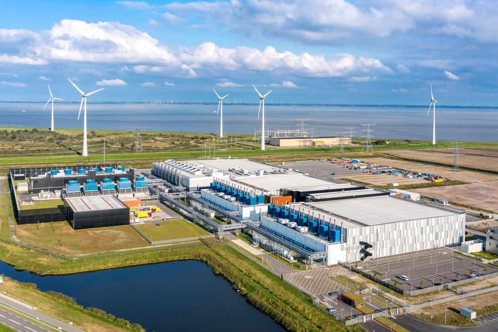 Datové centrum Googlu v nizozemském Eemshavenu