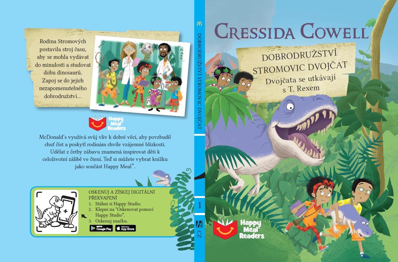 V Happy Mealu nově bude možné získat dětskou knihu