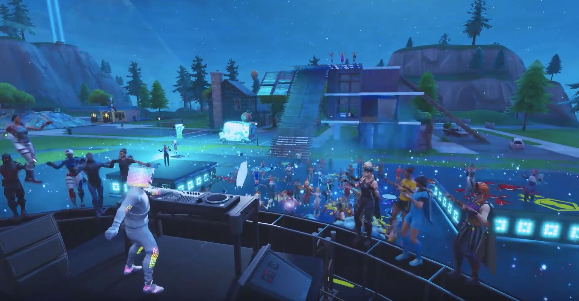 Herní mapa Pleasant Park se proměnila v taneční parket