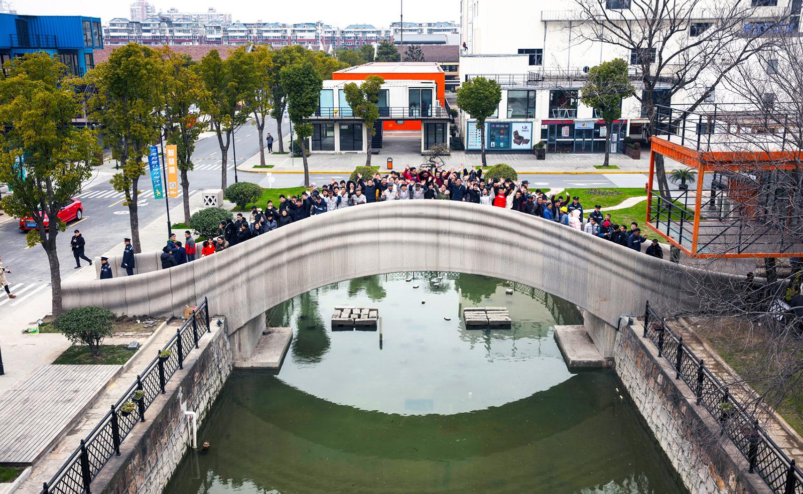 Most je určen pro reálné pěší využití