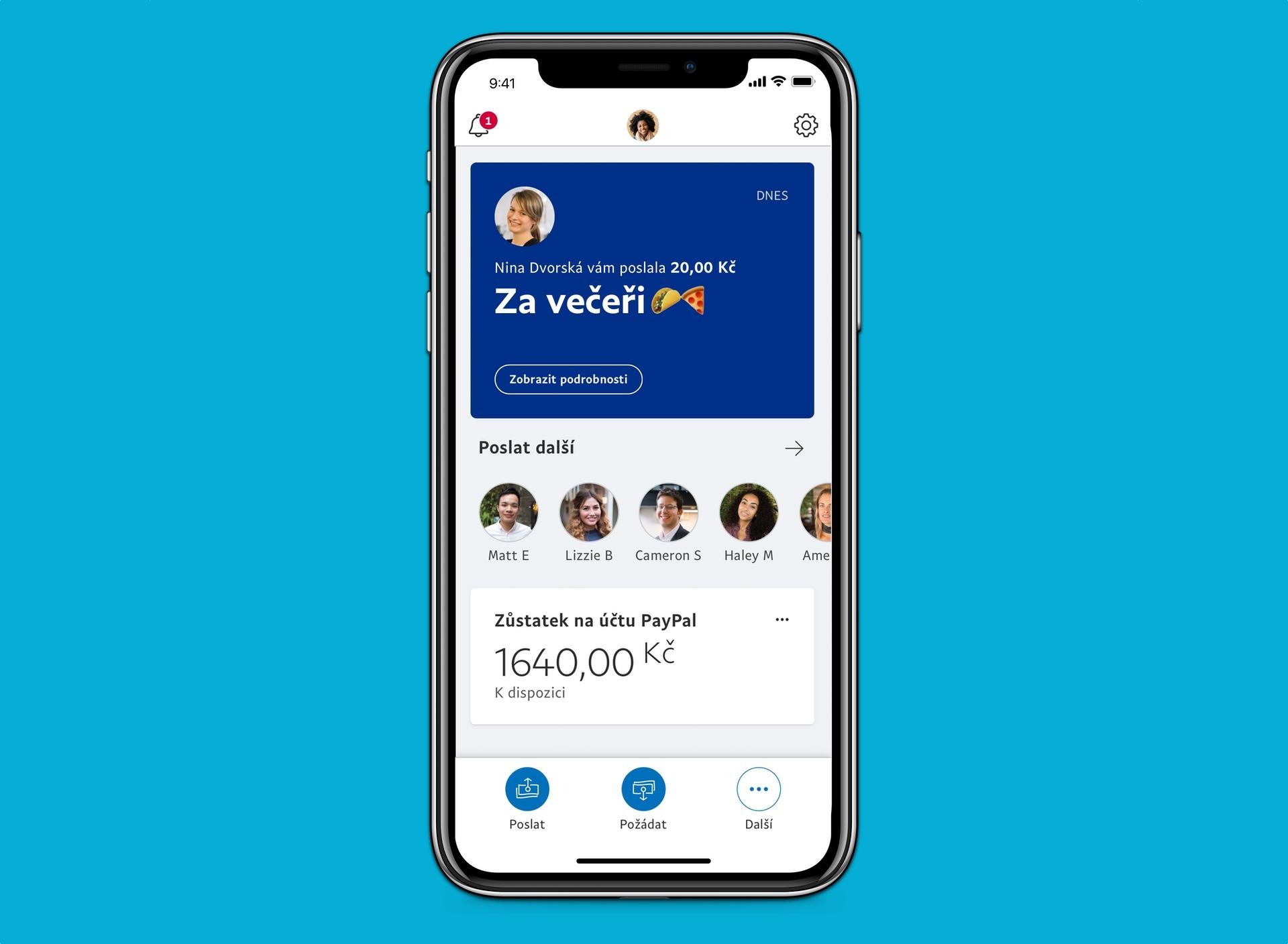 PayPal v Česku spouští bezplatné osobní platby