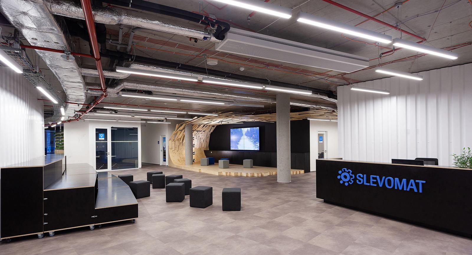 Nové kanceláře Slevomatu v pražském Karlíně