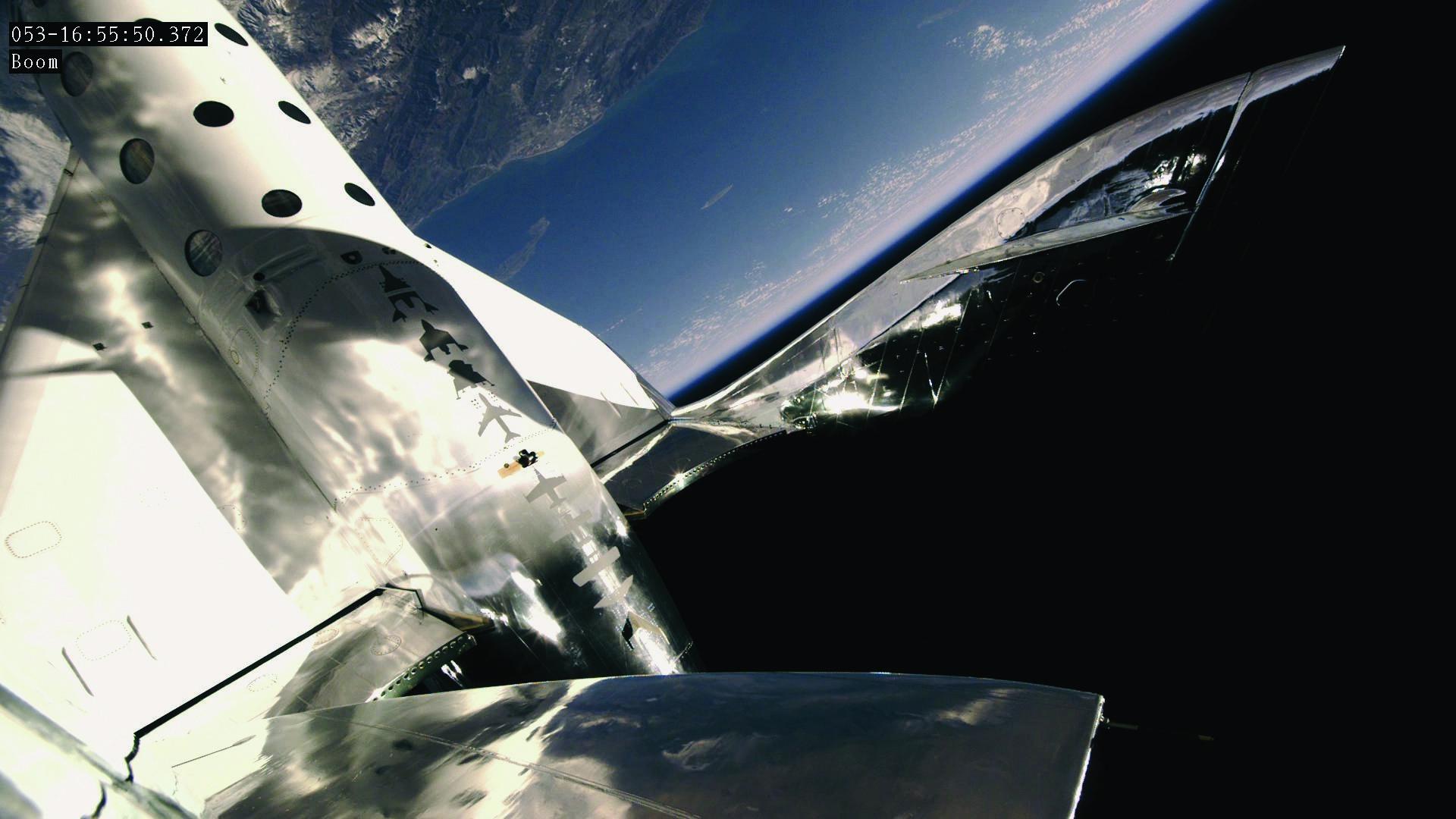 Pohled z VSS Unity na Zemi