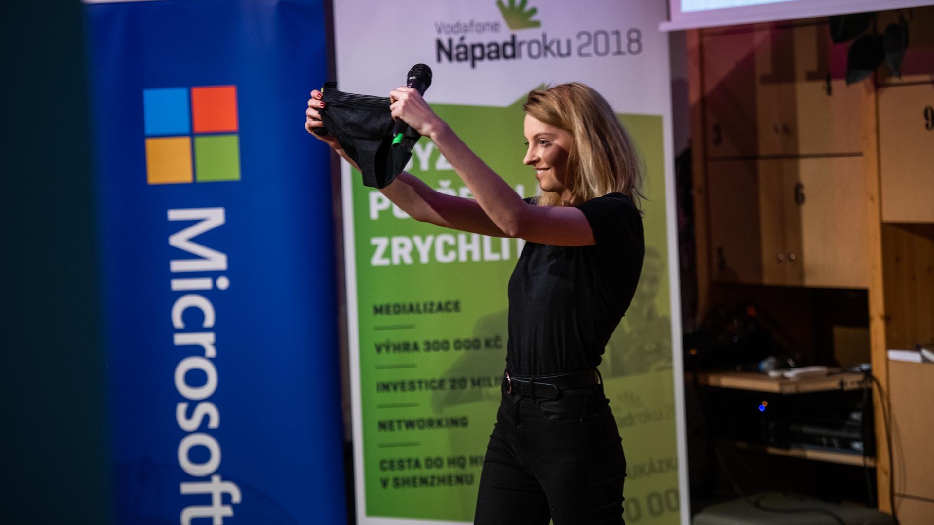 Linda Šejdová ze startupu Snuggs