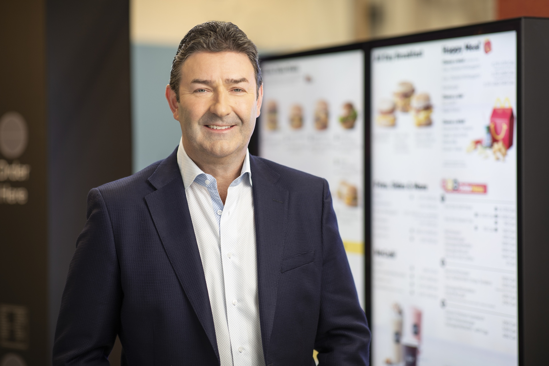 Steve Easterbrook, CEO McDonald's