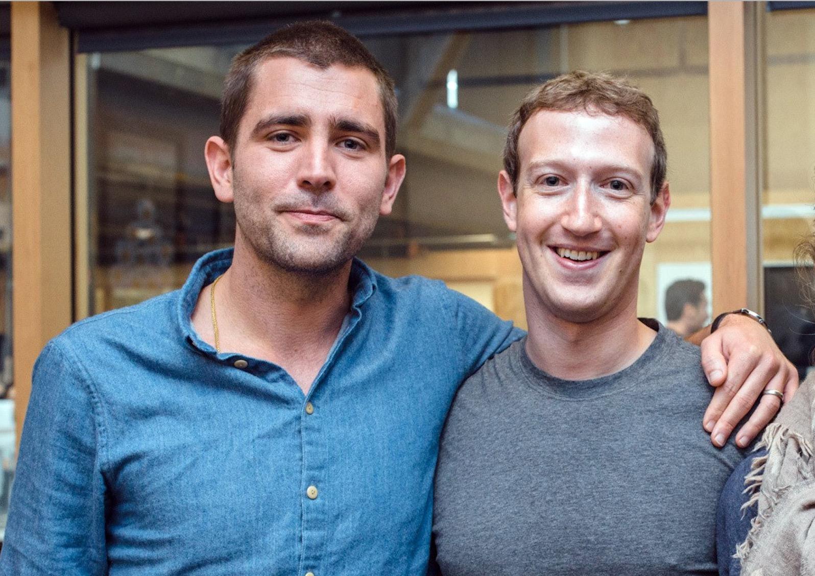 Chris Cox, bývalý šéf produktu Facebooku, a Mark Zuckerberg