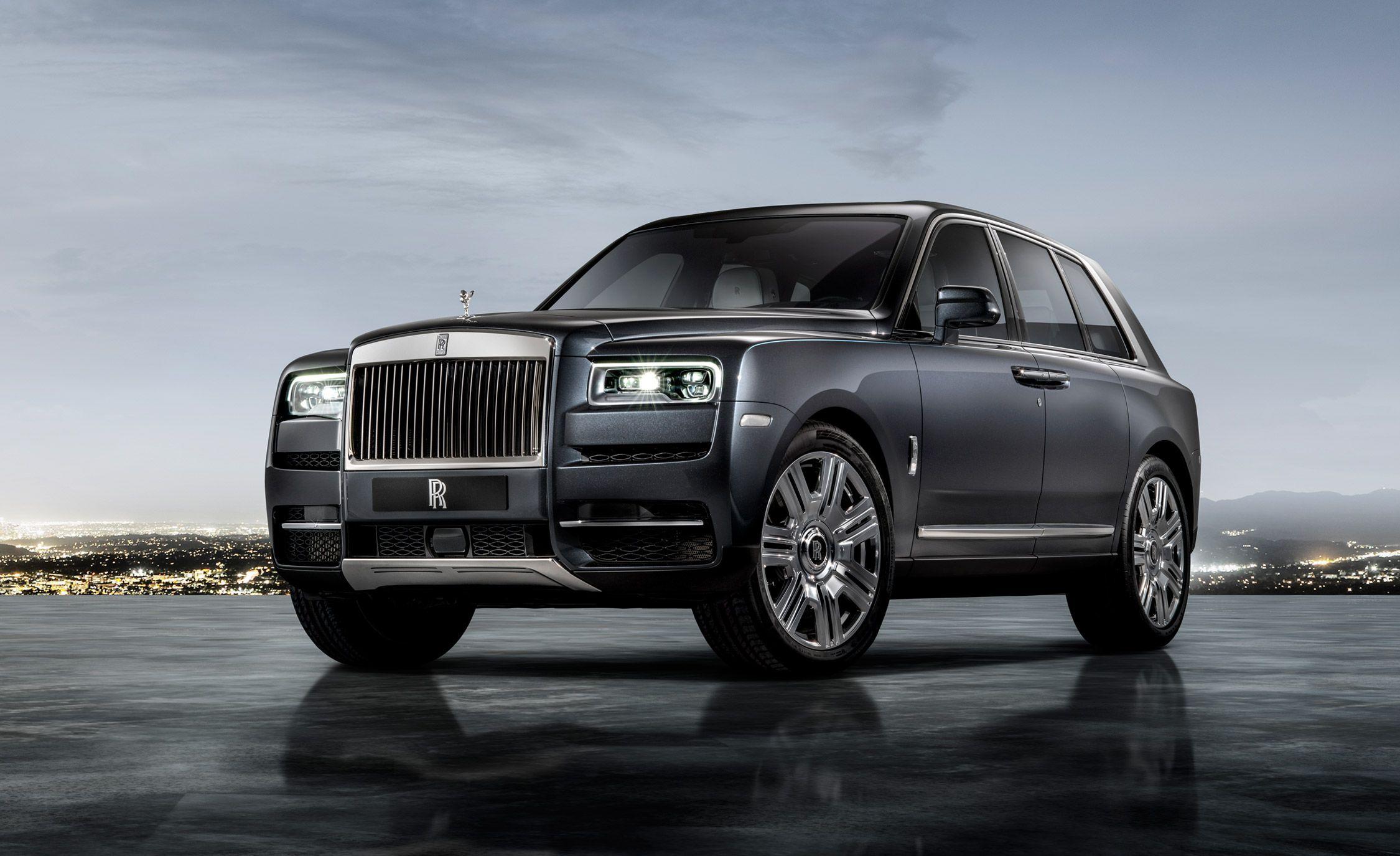 Rolls-Royce a jeho nové SUV Cullinan