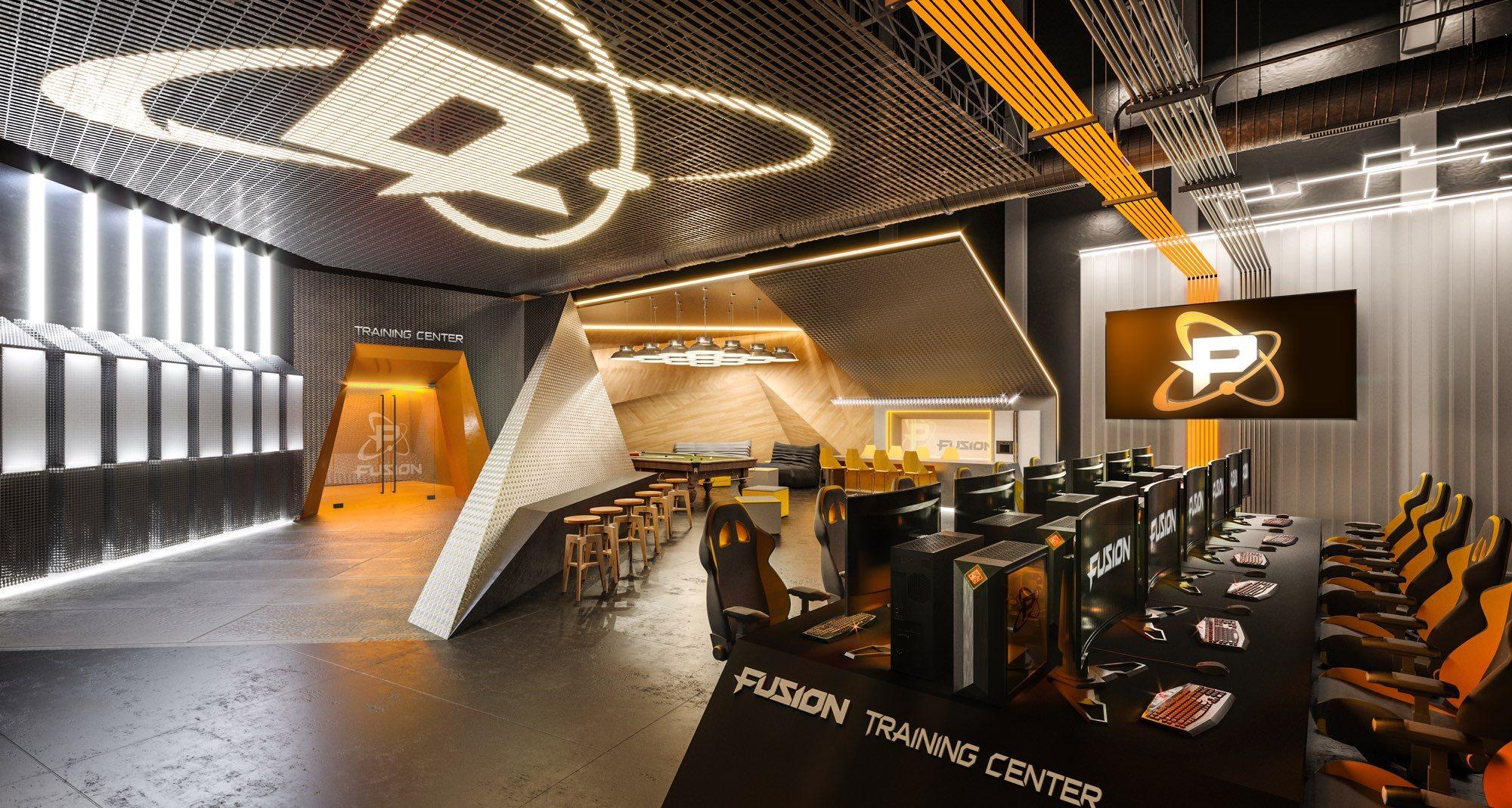 Fusion Arena nabídne kompletní zázemí pro hráče a jejich trénink