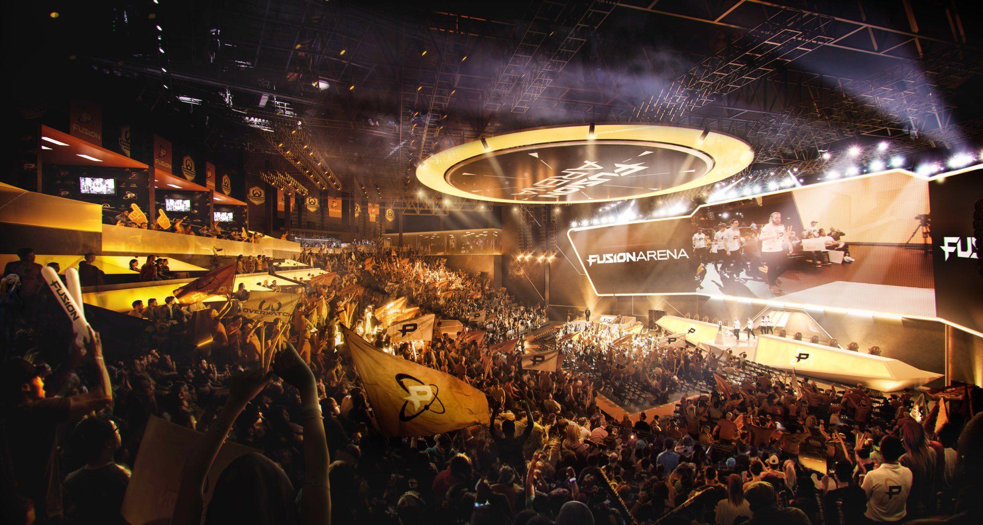 Fusion Arena bude první hala určená přímo pro hraní zápasů v Overwatch League