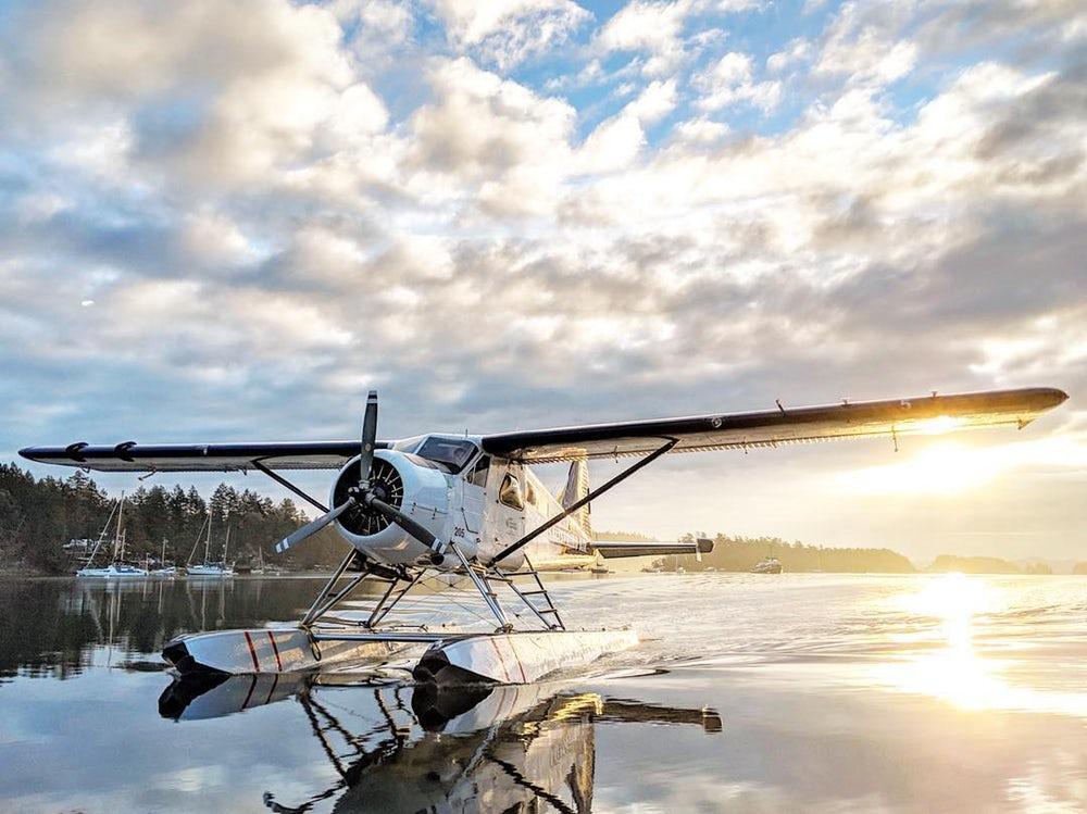 Hydroplán de Havilland Beaver od Harbour Air
