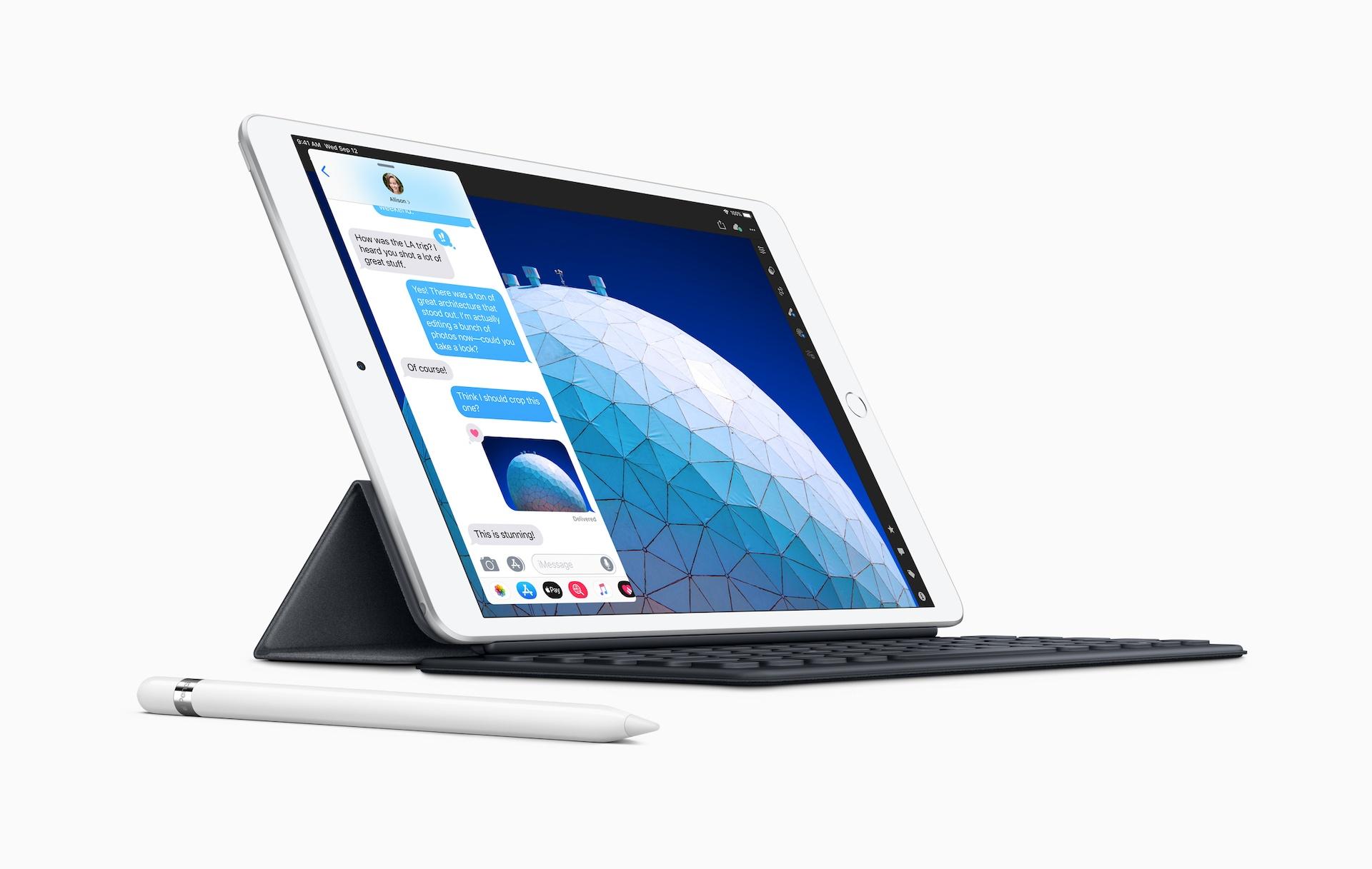 Nový iPad Air má 10,5palcový displej