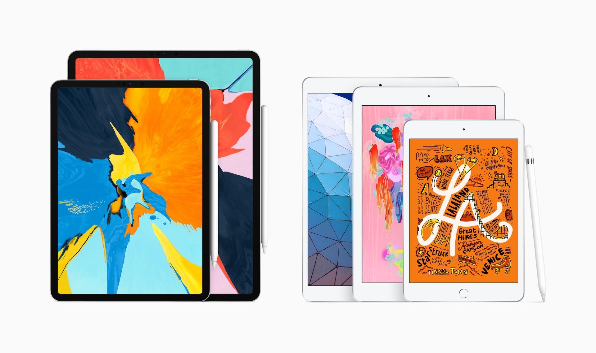 V nabídce Applu je aktuálně pět iPadů