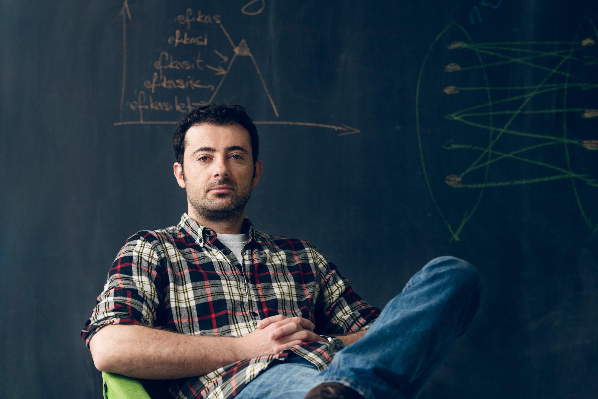 Mergim Cahani, zakladatel a CEO startupu Gjirafa