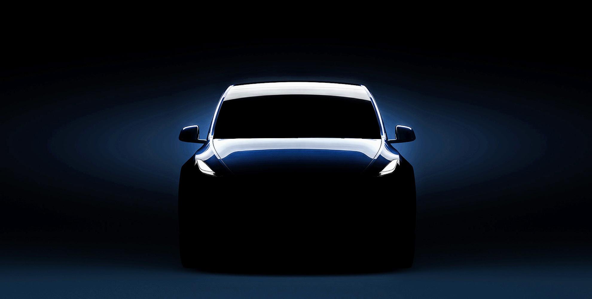 Nový vizuál Tesla Modelu Y