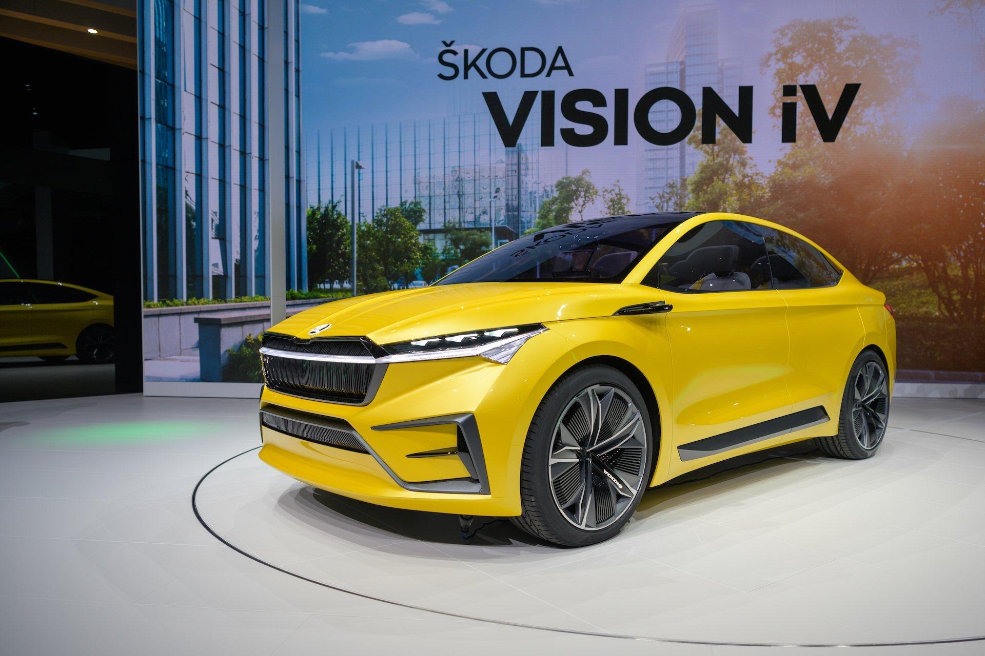 Škoda Vision iV, koncept první plně elektrického vozu Škodovky