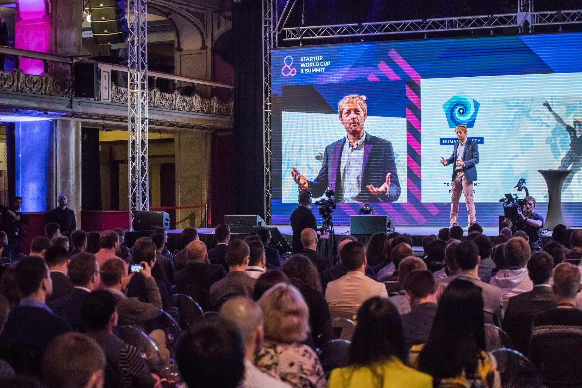 Minulý Startup World Cup & Summit se konal v pražské Lucerně