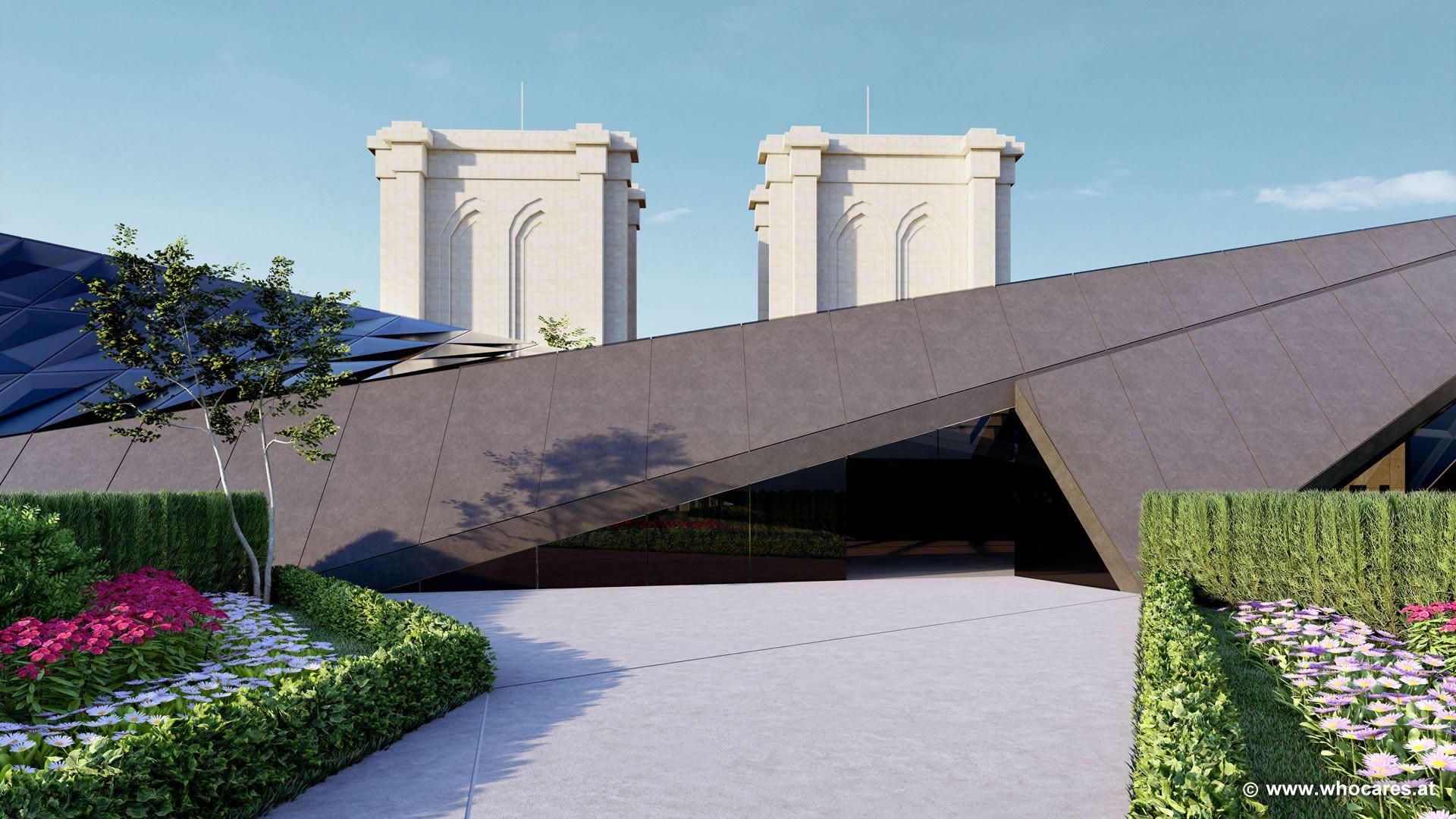 Střecha by měla nabízet nezapomenutelný výhled na město