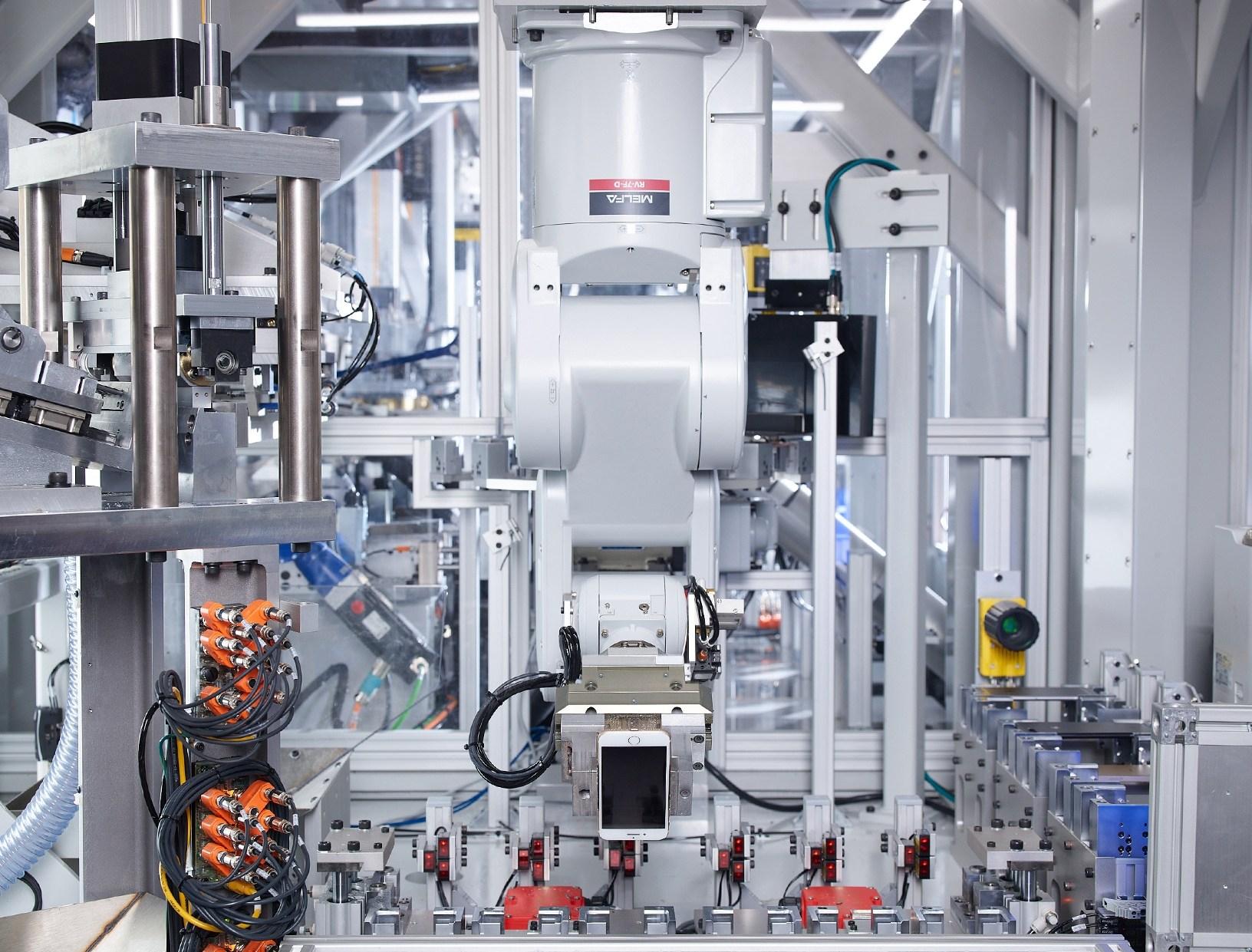 Recyklační robot Applu Daisy