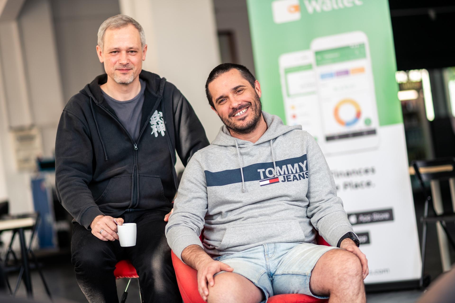 Michal Kratochvíl (CEO) a Jan Müller (spoluzakladatel) z BudgetBakers