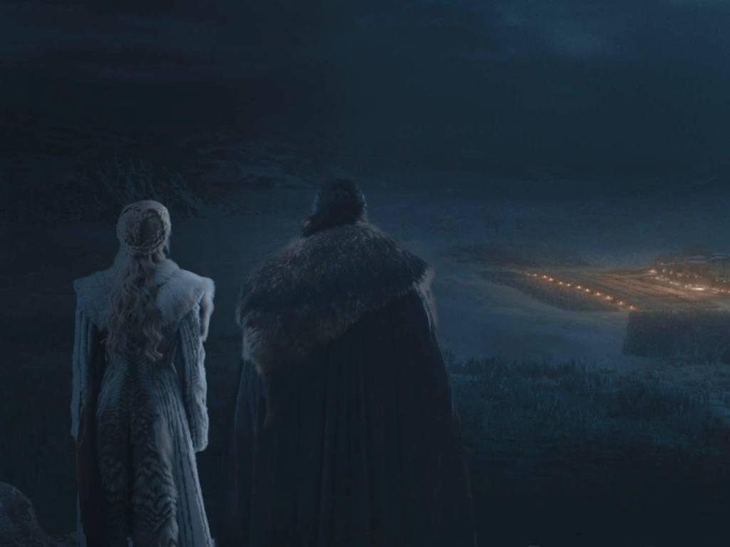 Daenerys a Jon Snow