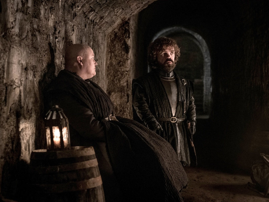 Lord Varys a Tyrion Lannister