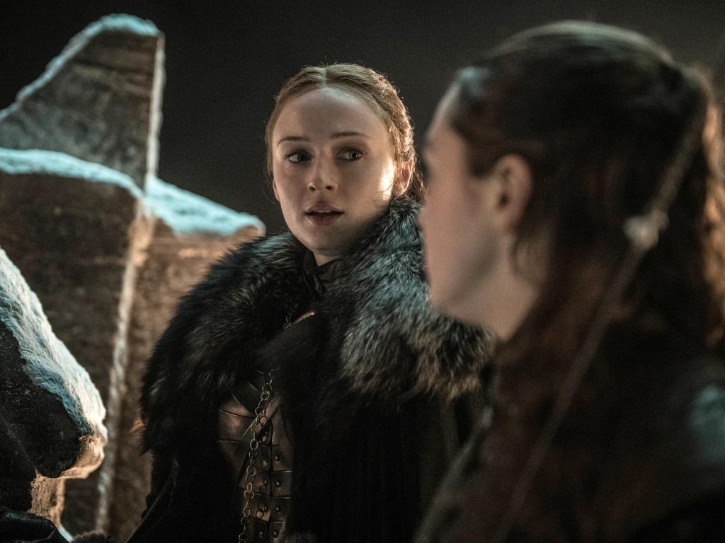 Sansa Stark a Arya Stark