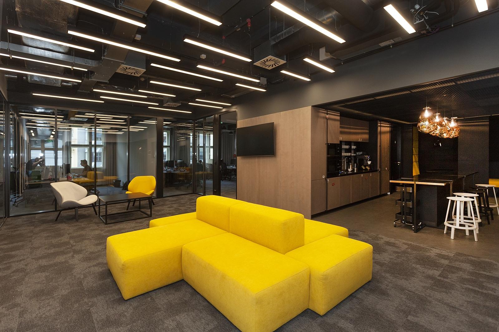 Kanceláře Productboardu v pražském HubHubu