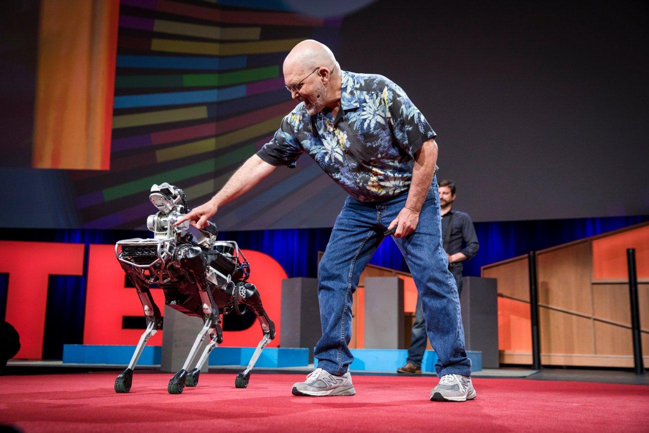 Zakladatel Boston Dynamics Mark Raibert