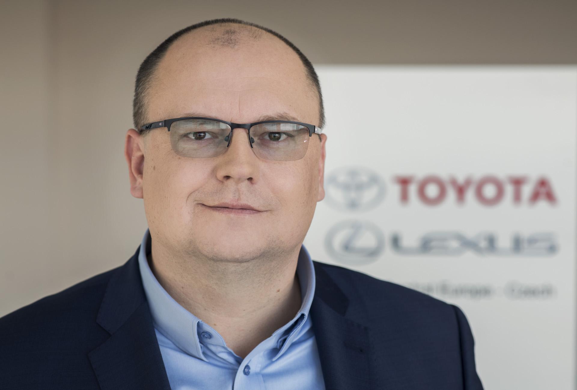 Šéf české Toyoty Martin Peleška