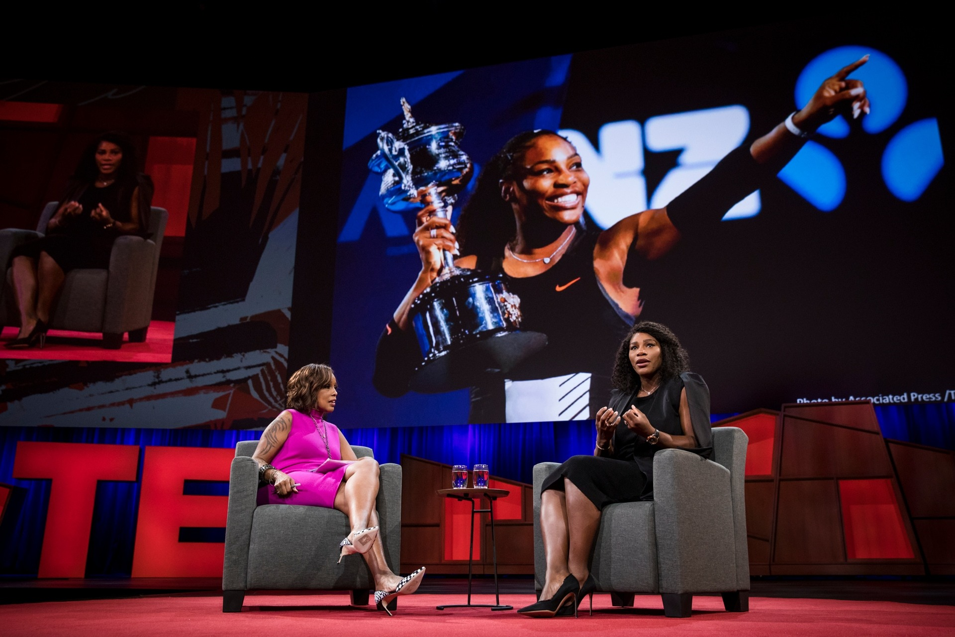Serena Williamsová na konferenci TED