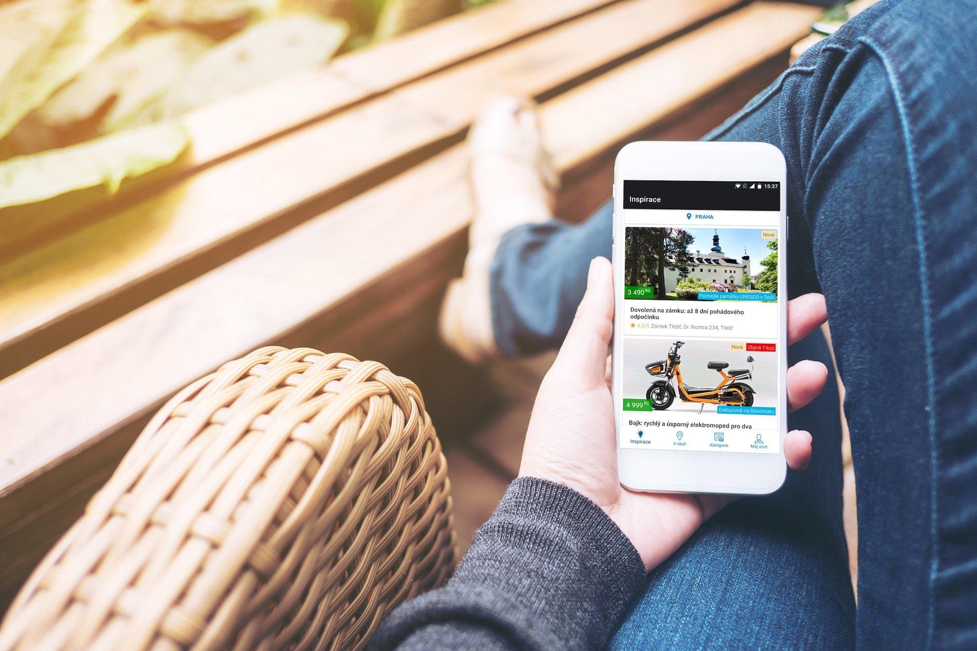 Mobilní aplikace Slevomatu