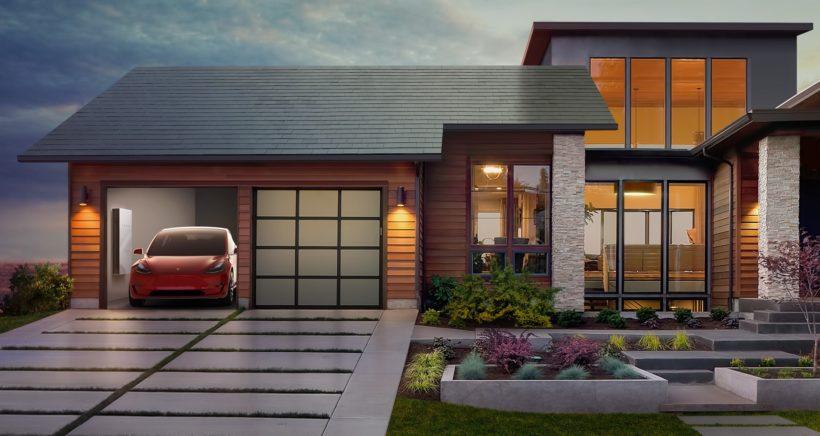tesla-model3-solar-roof-powerwall