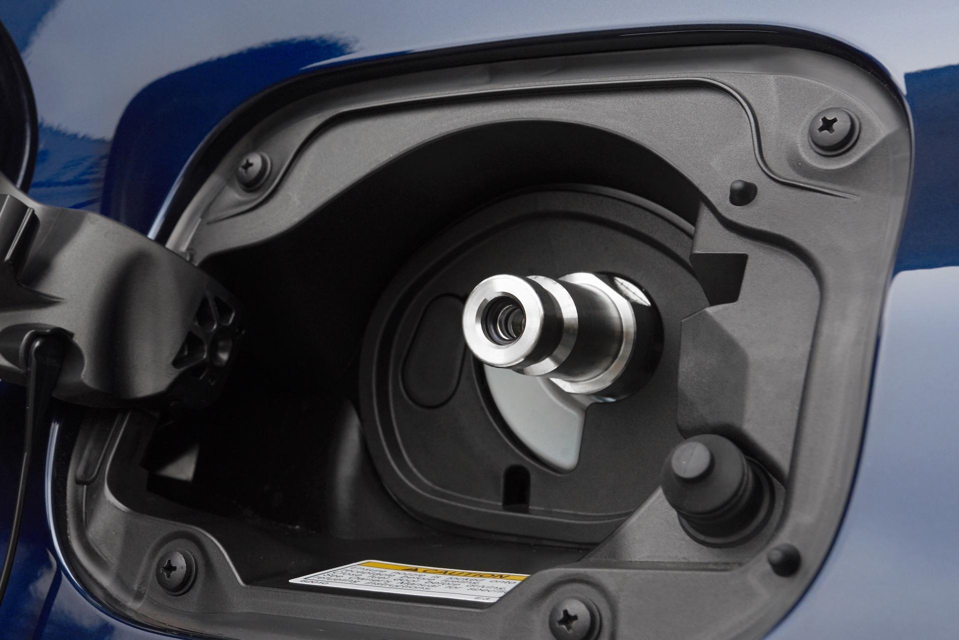 Vodíková nádrž Toyoty Mirai