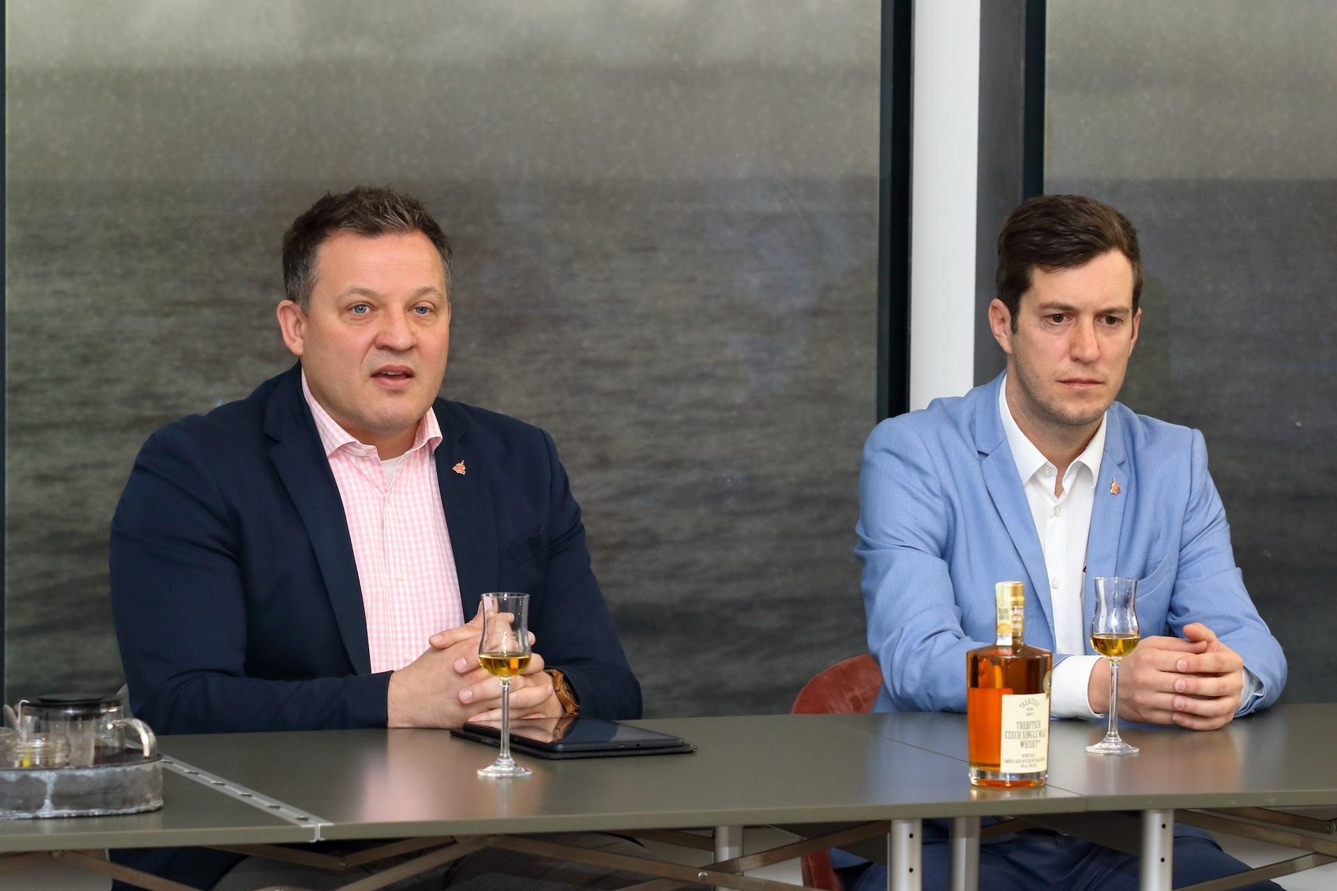 David Kratochvíl a Ondřej Chládek z Trebitsch Holdingu