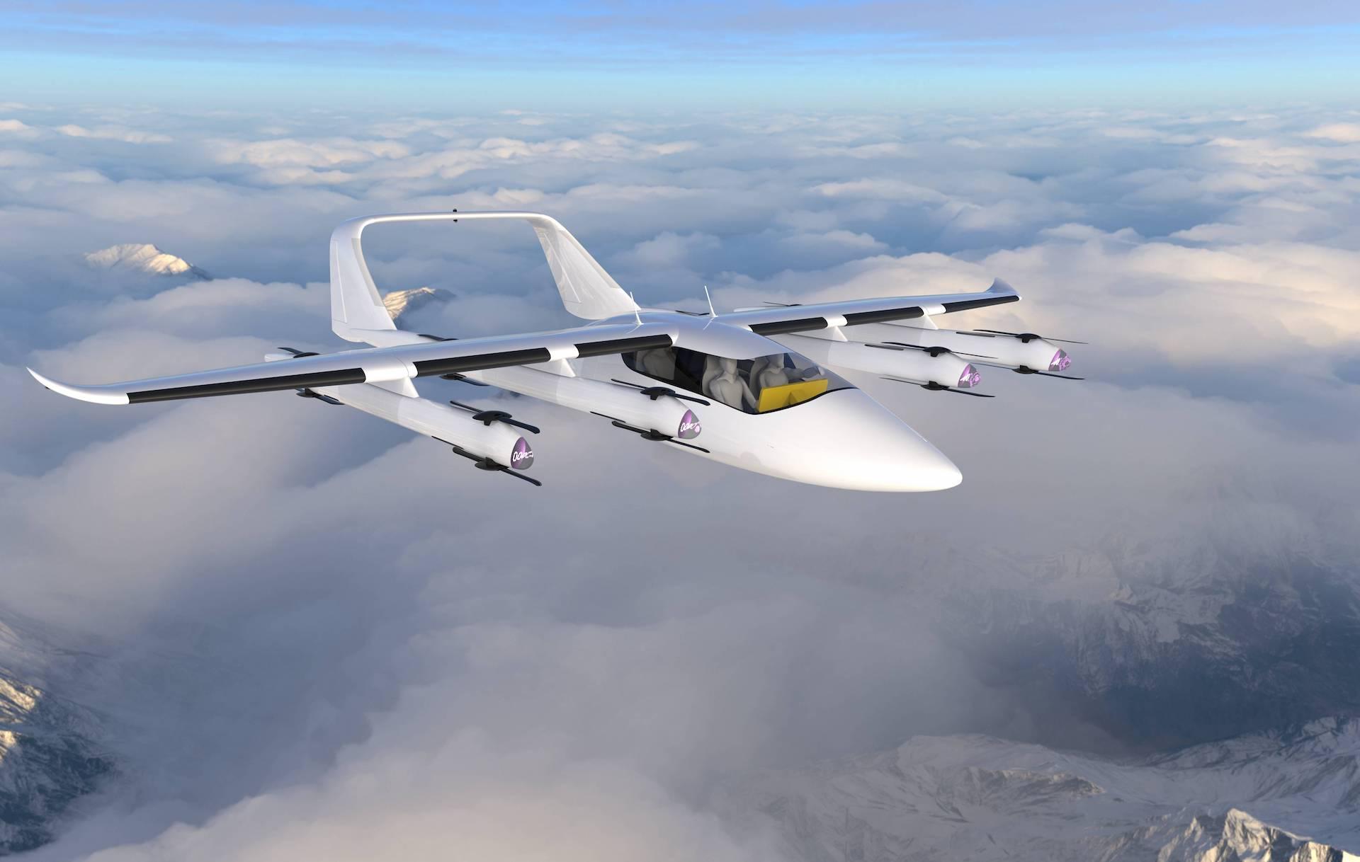 Elektrické letadlo Zuri